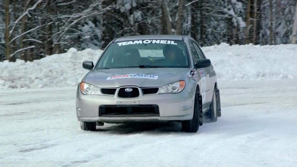 Давление в шинах Team O'Neil для зимнего вождения, скриншот