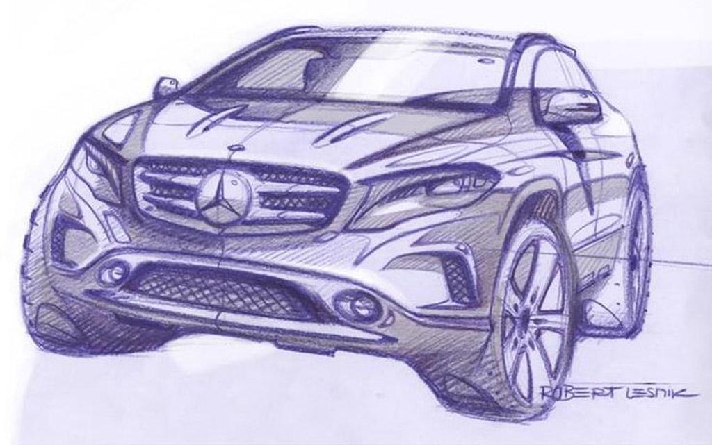 Teaser for 2014 Mercedes-Benz GLA
