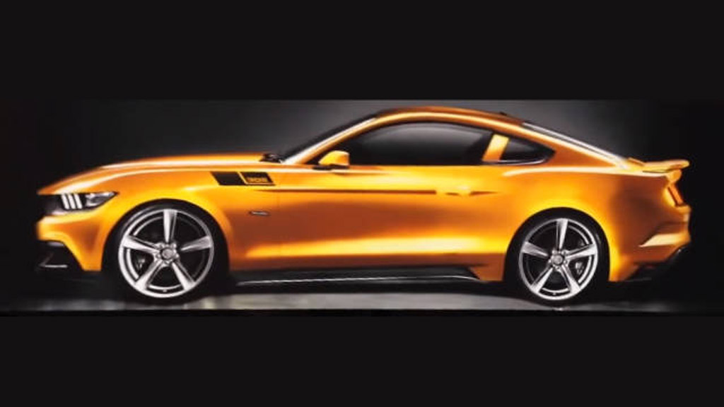 2015 saleen s302 mustang teased further in new video. Black Bedroom Furniture Sets. Home Design Ideas