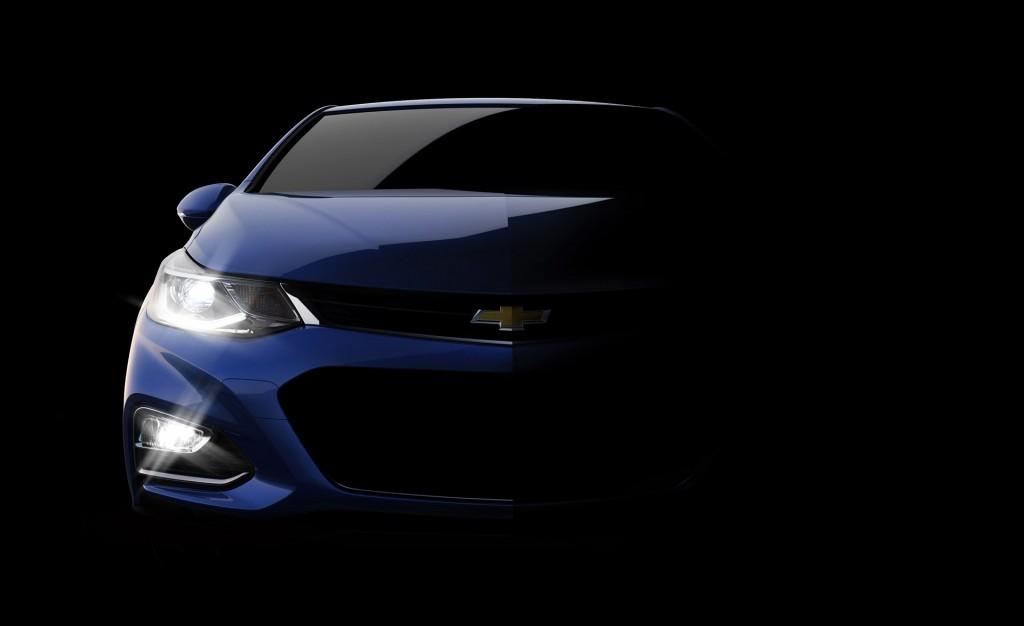 Teaser for 2016 Chevrolet Cruze