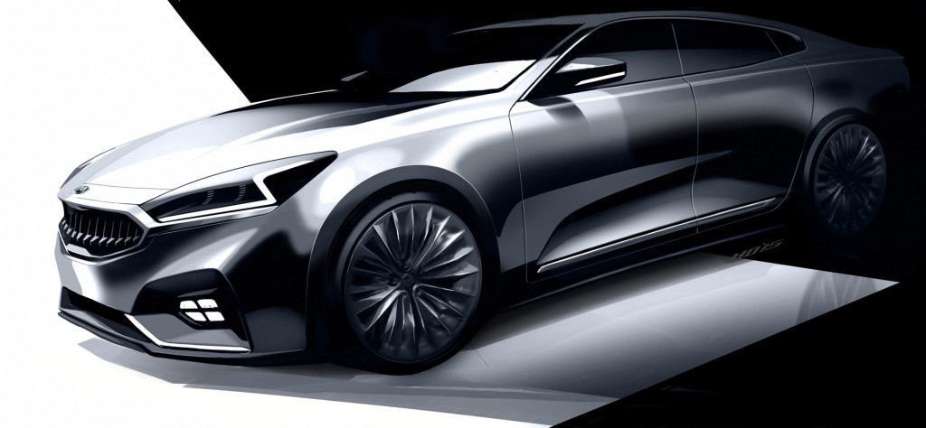 Teaser for 2017 Kia Cadenza