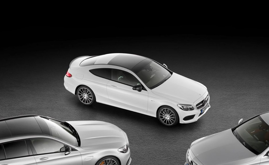 Mercedes-AMG C43 Coupe Outed In Teaser For New C-Class Cabrio