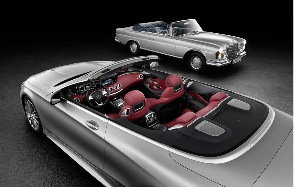 Teaser for 2017 Mercedes-Benz S-Class Cabriolet