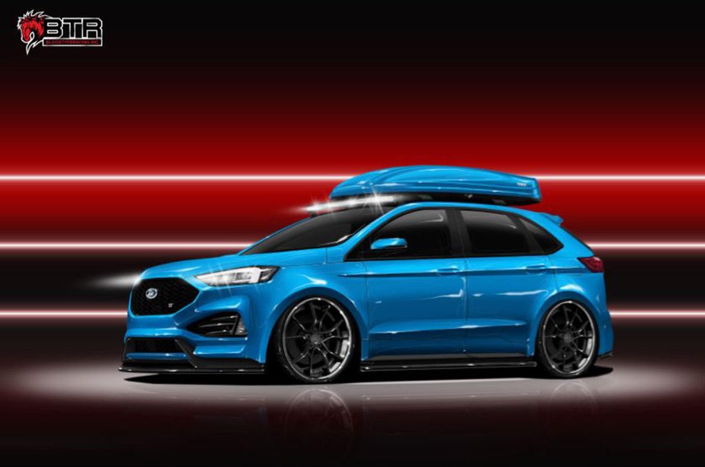 2019 Edge ST heads fleet of custom Ford SUVs bound for SEMA