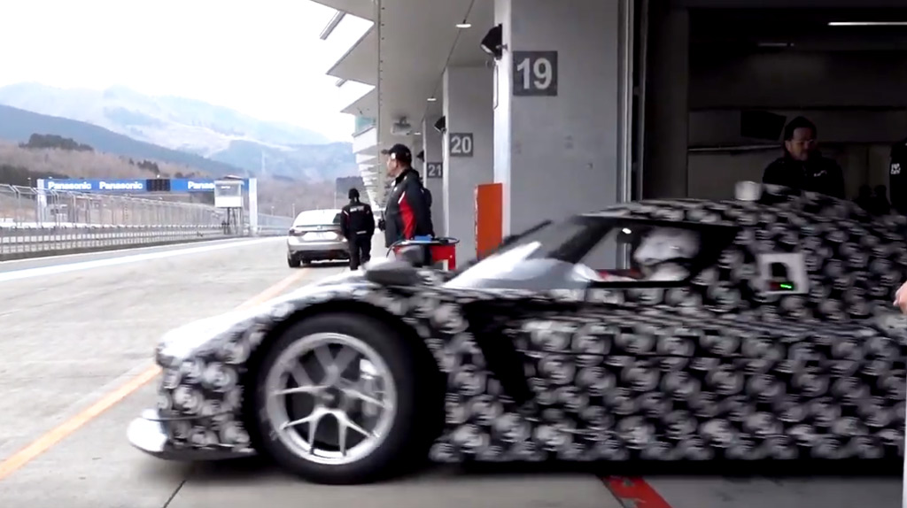 Akio Toyoda tests Toyota's race car designed for WEC's new Hypercar class
