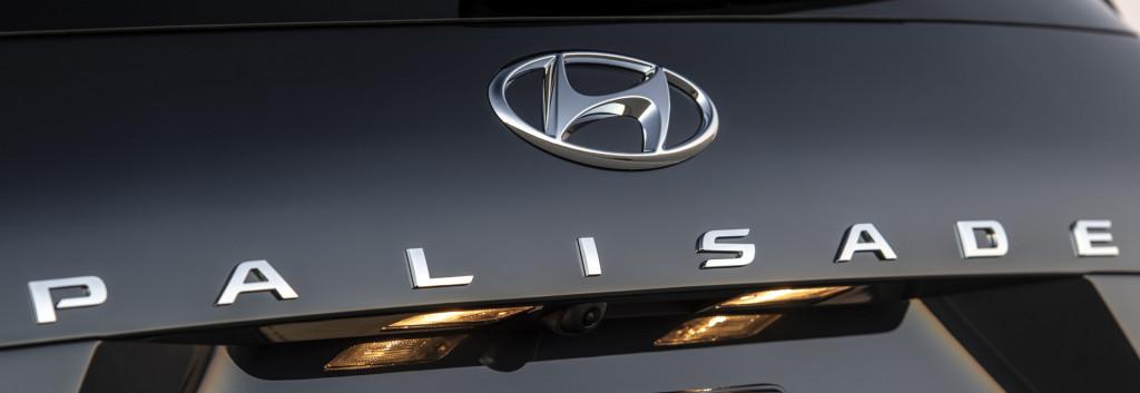 Teaser for 2020 Hyundai Palisade debuting at 2018 Los Angeles auto show