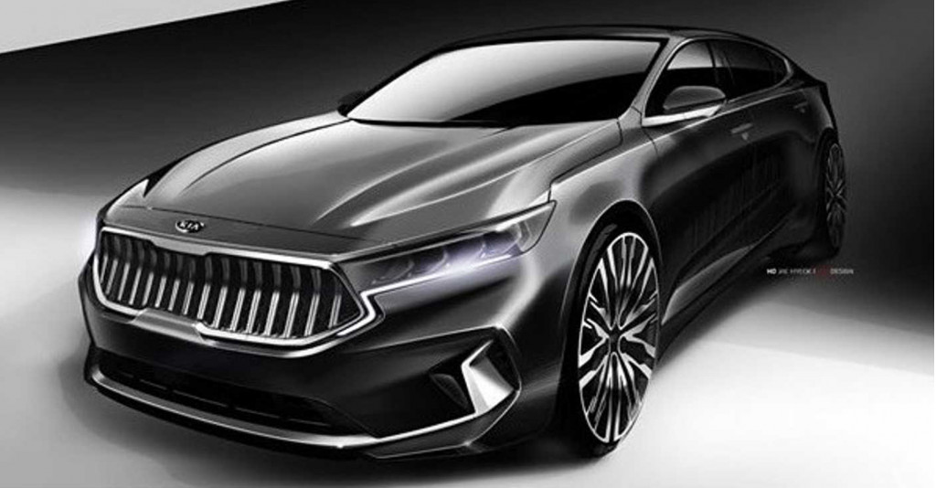 Teasers reveal upmarket look for refresehed 2020 Kia Cadenza
