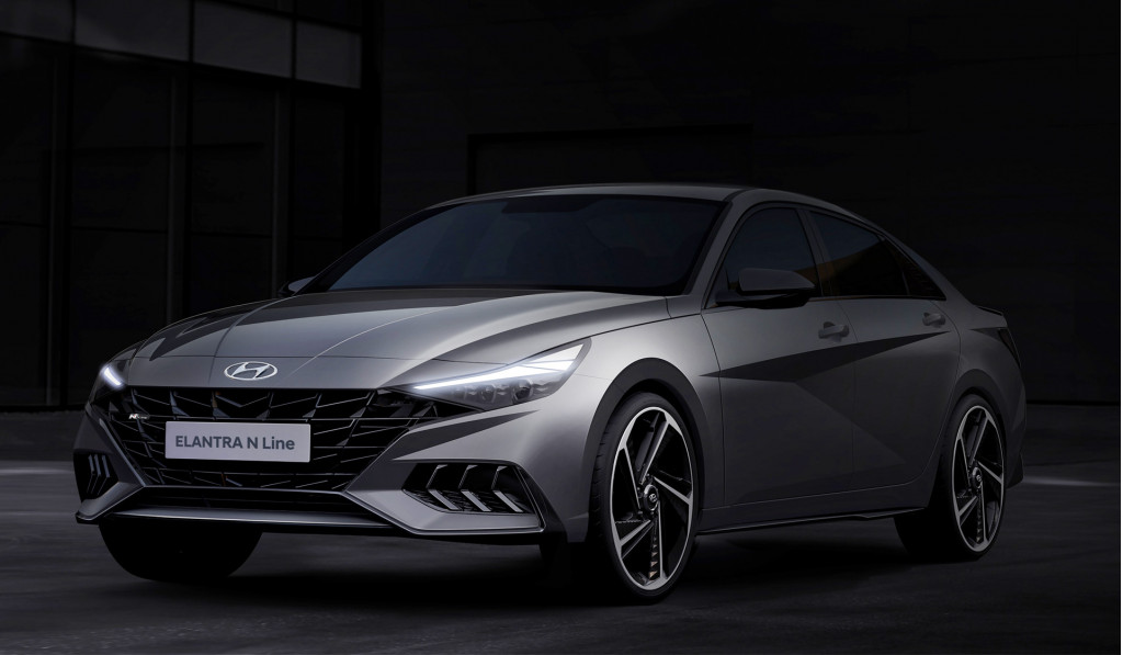 2021 Hyundai Elantra N Line hints at sporty sedan with more to come