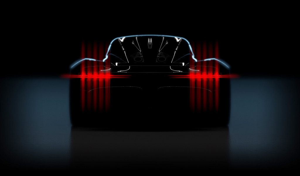 Teaser for Aston Martin 003 Hypercar debuted in 2021