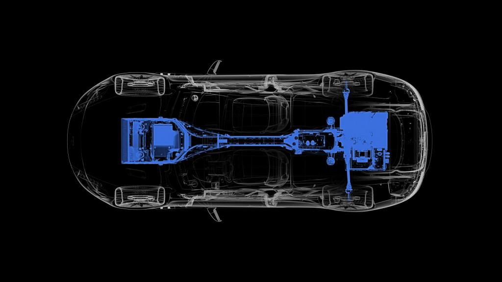 Teaser for Aston Martin Rapide E due in 2019
