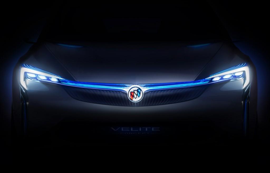 Buick Velite concept, 2016 Guangzhou auto show