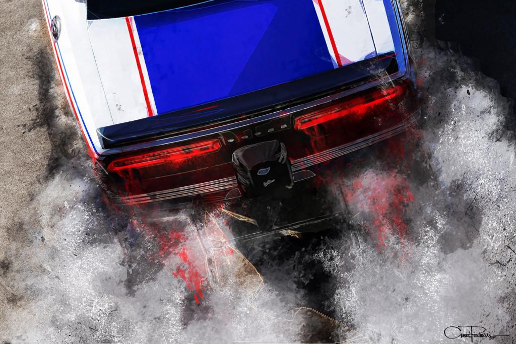 Dodge SRT DEMON MOPAR Garage Sign