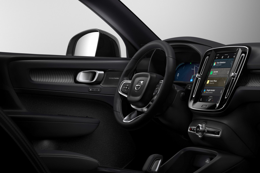 Electric XC40 will debut Volvo's next-gen infotainment