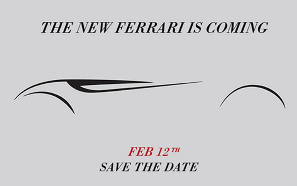 ferrari teases california replacement ahead of tomorrow u2019s
