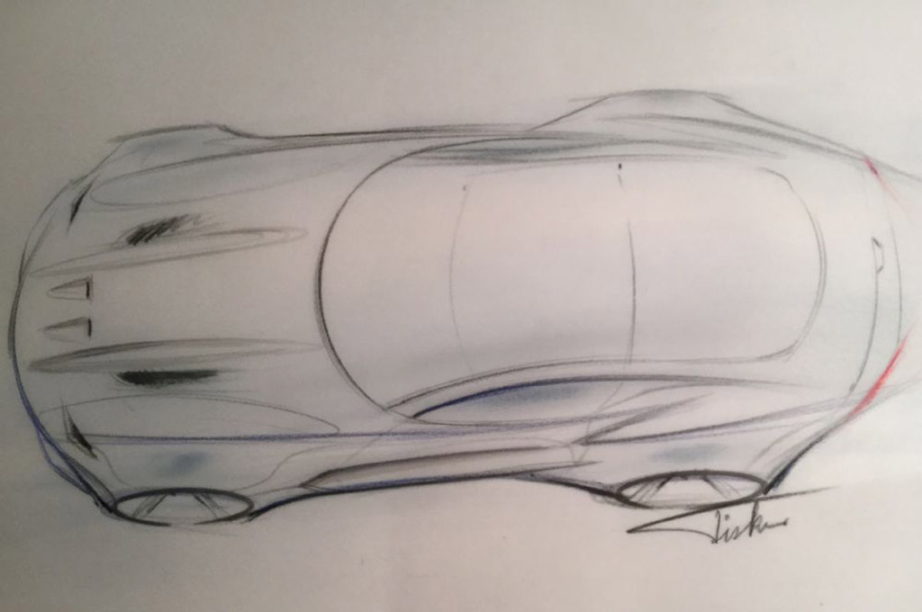 Teaser for Henrik Fisker Design The Force 1 - Image via Automobile