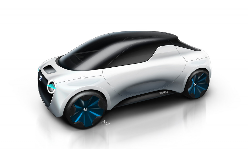 Honda and IED students ready Tomo mini pickup concept for Geneva show