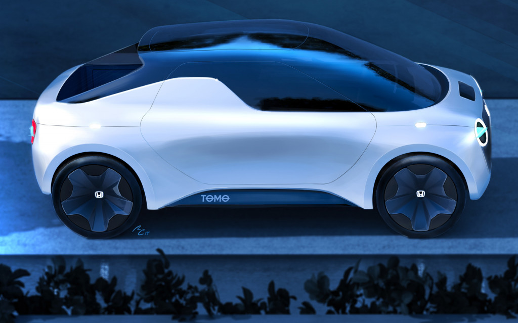 Honda And IED Students Ready Tomo Mini Pickup Concept For