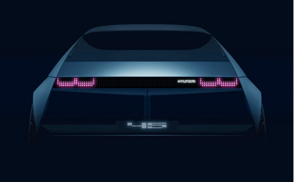 Teaser for Hyundai 45 concept debuting at 2019 Frankfurt auto show