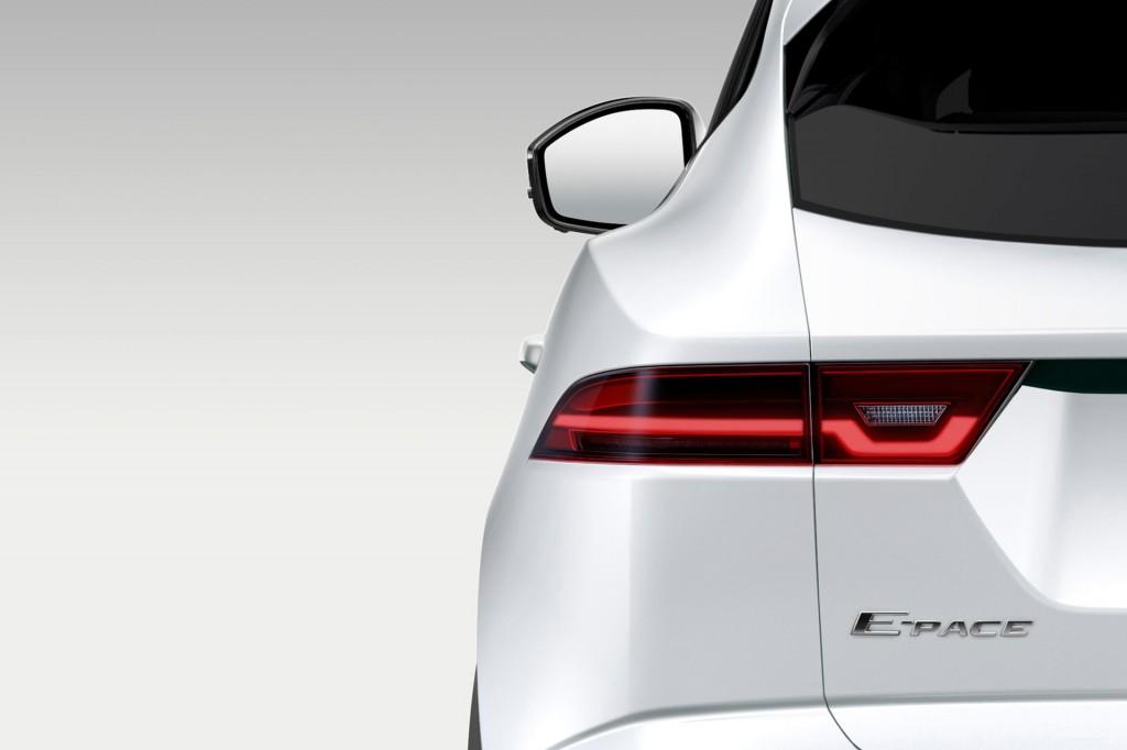 Teaser for Jaguar E-Pace debuting on July 13, 2017