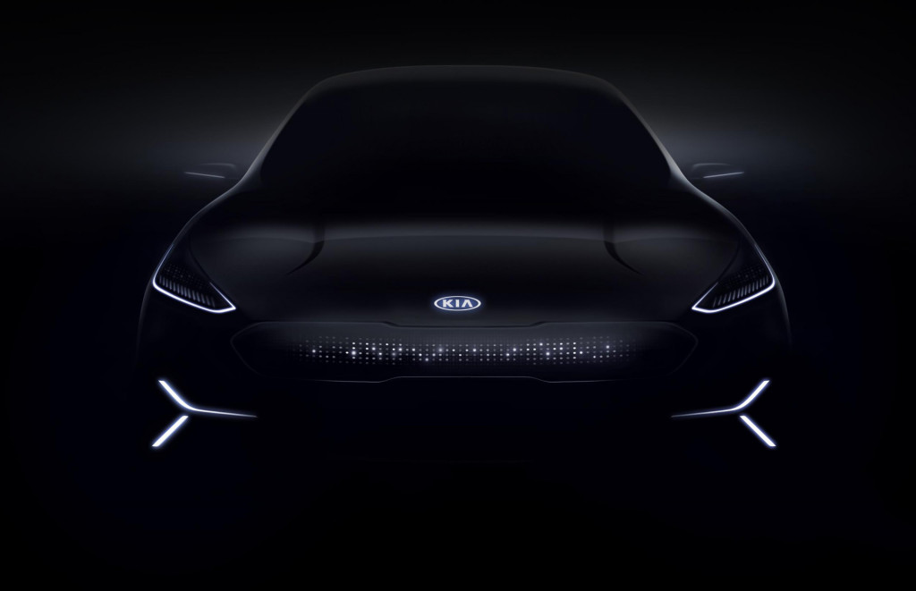 Image: Teaser for Kia Niro EV concept debuting at 2018 Consumer Electronics Show, size: 1024 x ...