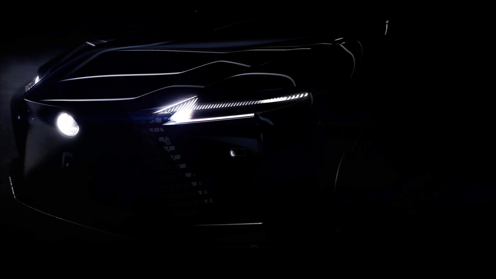 Teaser for Lexus concept car debuting in early 2021