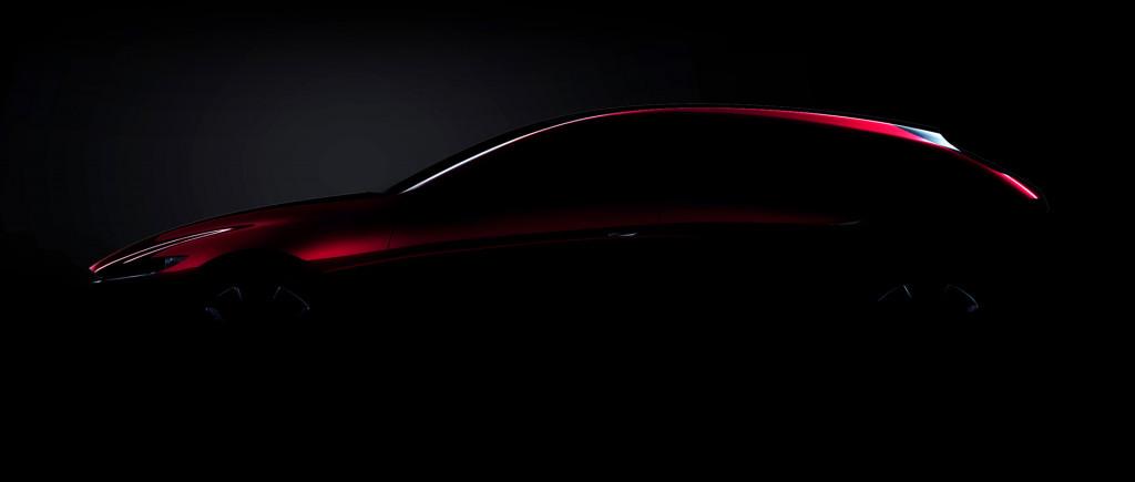 Teaser for Mazda technology concept debuting at 2017 Tokyo Motor Show