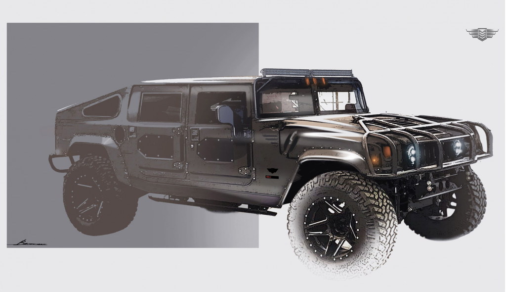 Detroits Mil Spec Auto Ready To Restomod Its Next Hummer H1