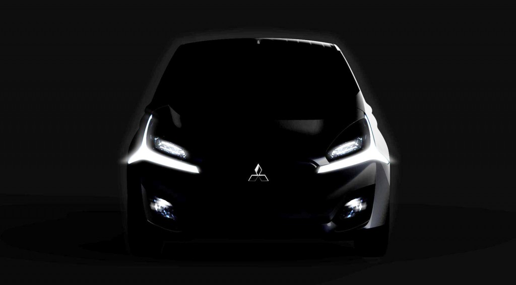 Teaser for Mitsubishi CA-MiEV concept