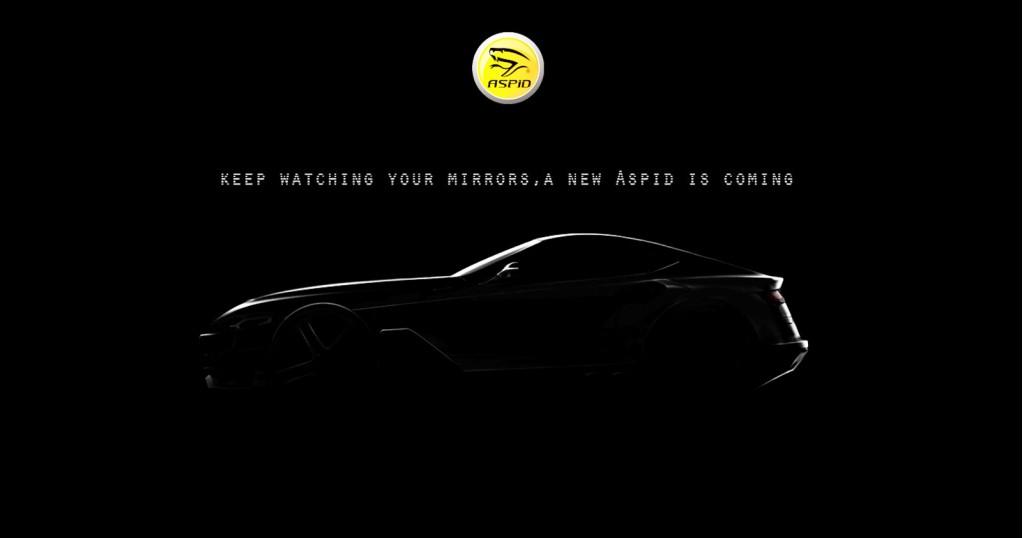 Teaser for new Aspid sports car