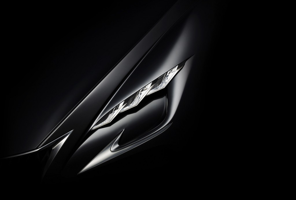Teaser for new Lexus concept debuting at 2015 Tokyo Motor Show