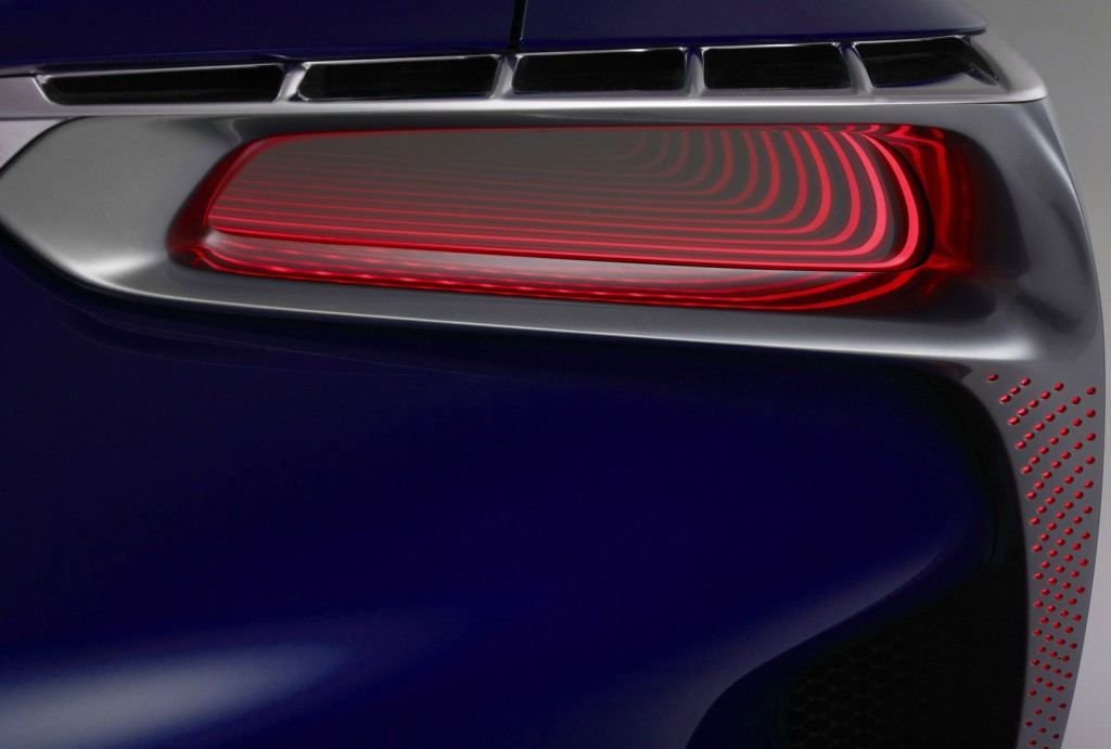 Teaser for new Lexus hybrid coupe concept