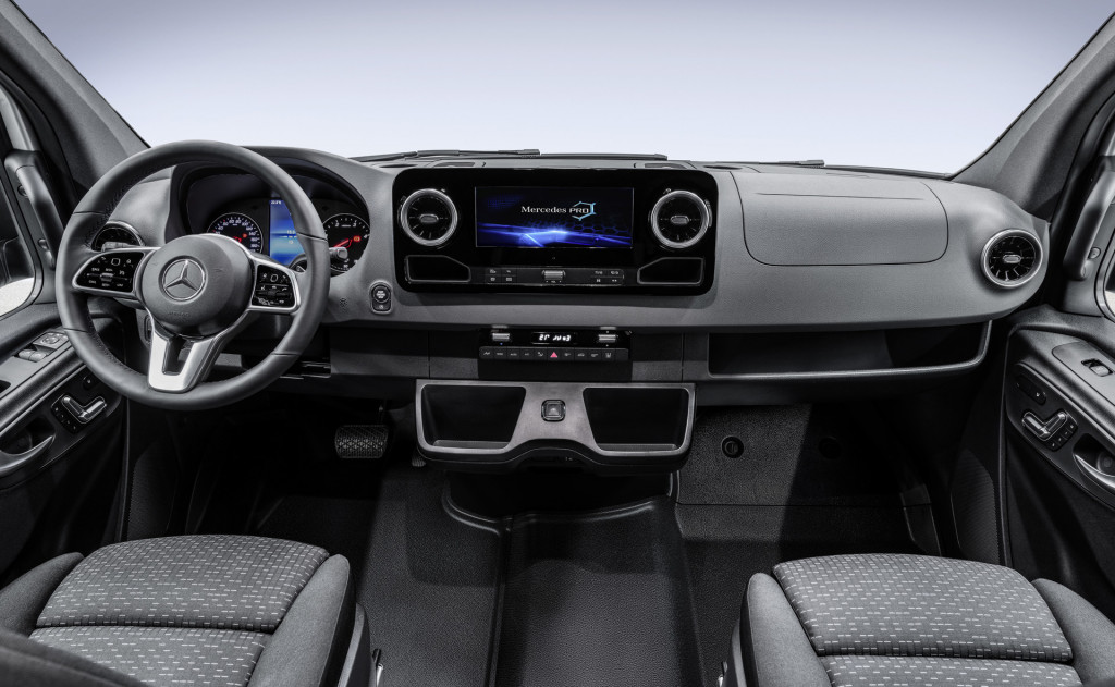 2019 Mercedes-Benz Sprinter revealed