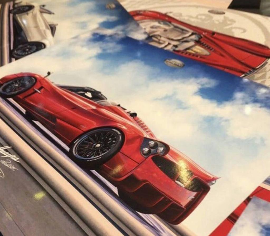 DS pagani huayra roadster : Pagani Huayra Roadster leaked ahead of 2017 Geneva auto show