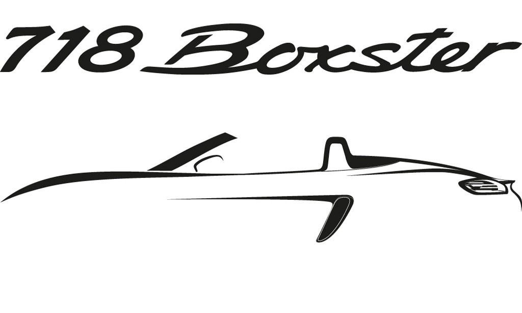 Teaser for Porsche 718 Boxster