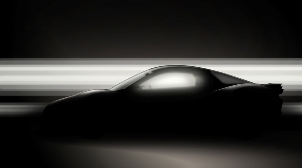 Teaser for Yamaha sports car concept debuting at 2015 Tokyo Motor Show