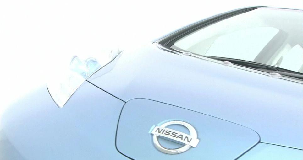 Teaser image of Nissan EV