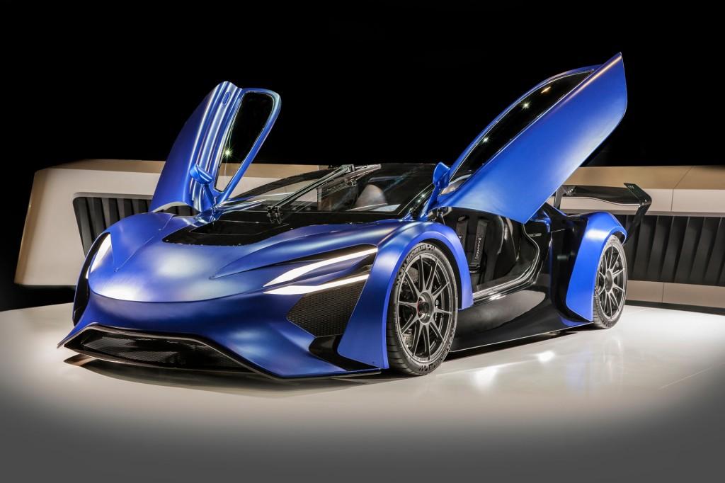 Techrules AT96 TREV concept, 2016 Geneva Motor Show