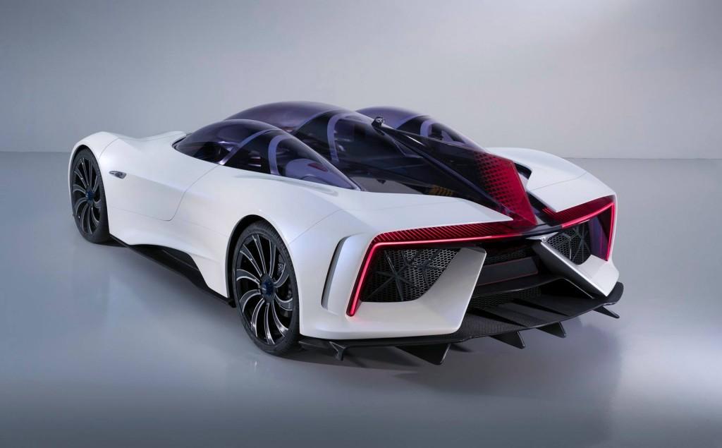 Techrules Ren, 2017 Geneva auto show