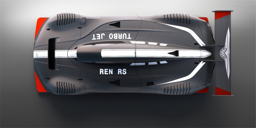 Teaser for Techrules Ren RS debuting at 2018 Geneva auto show