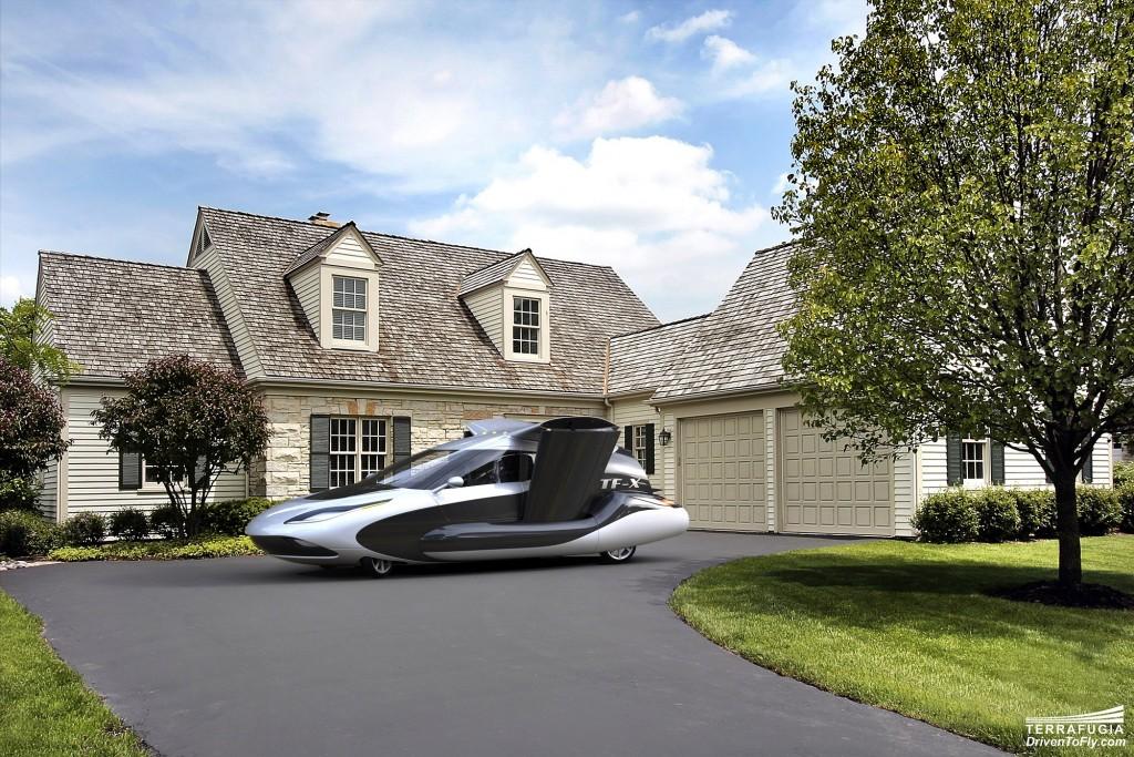 Rumor: Chinese automaker Geely to buy US flying car start-up Terrafugia