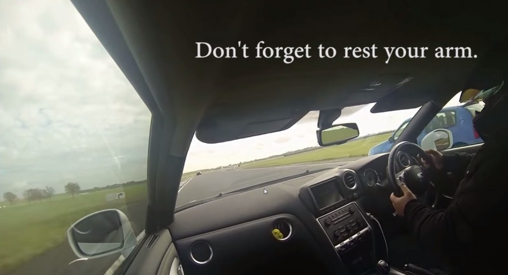 Nissan GT-R Driver Gives Best-Ever Bad Driving Lesson: Video