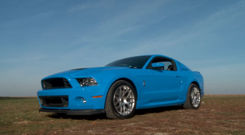 Terry's new Shelby GT500 Mustang