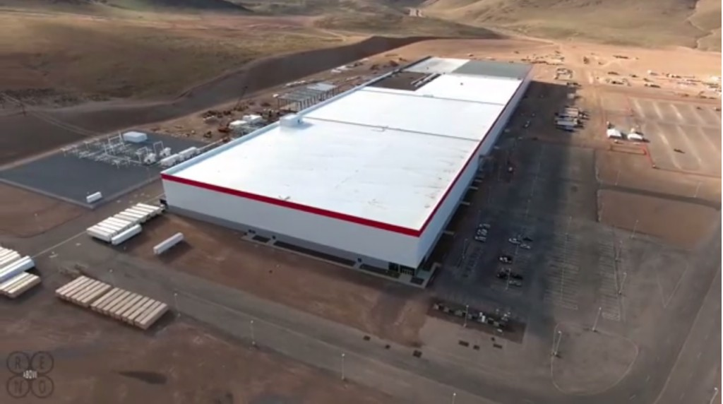 Image Tesla Gigafactory March 2016 Shown In Drone