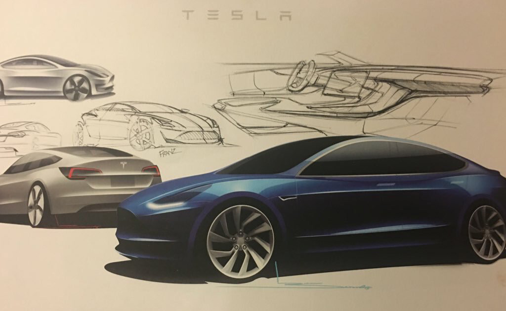 Tesla model 3 electricity cost