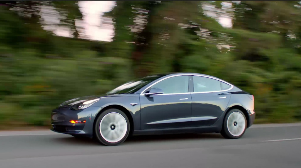 2018 tesla model 3 scores superior rating for its crash avoidance tech fandeluxe Choice Image