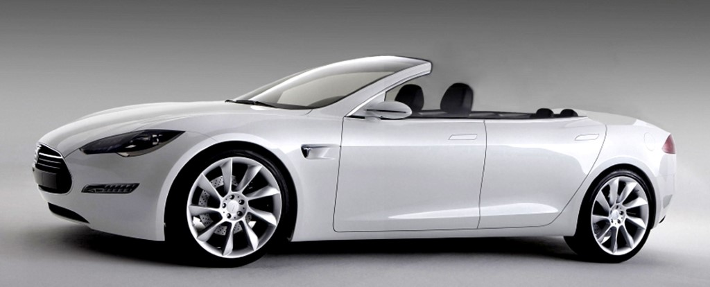 Tesla Model S Convertible Newport Takes Top Off Por Ev