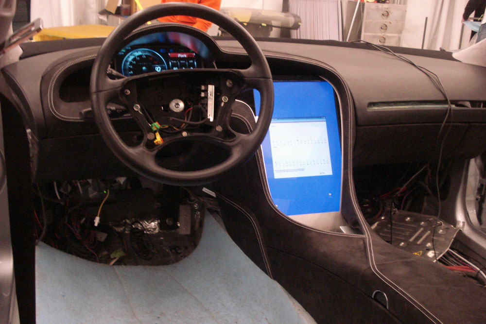 Tesla considers software application to re skin interior for Interior tesla model s