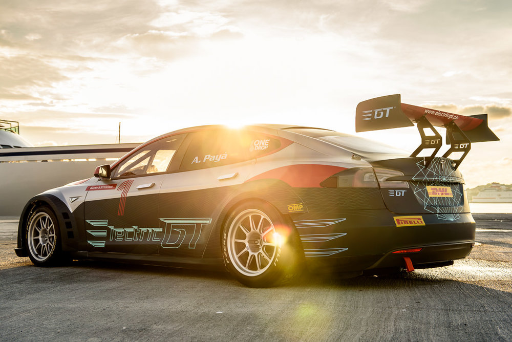 Electric GT racing series upgrades to Tesla Model S P100D