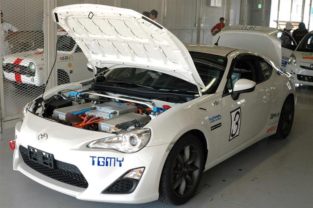 Tgmy Electric Toyota Gt Prototype Image Courtesy Of Technologic Vehicles L on Jaguar Battery Location
