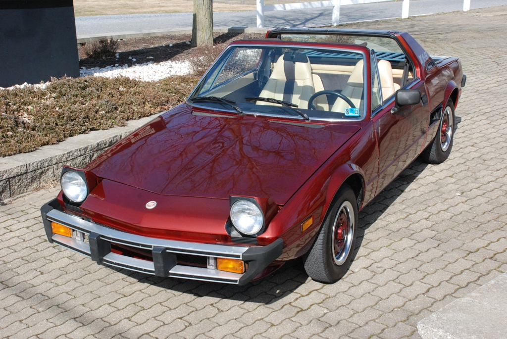 Classic Fiat X1 9 Up For Grabs At Carlisle Import Show